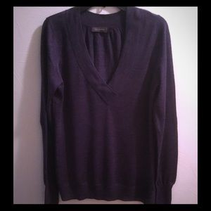 THE LIMITED LIGHTWEIGHT V-NECK SWEATER LARGE